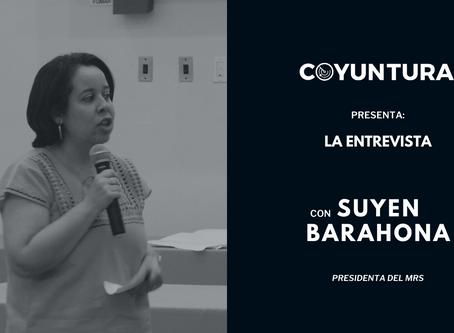 """Suyen Barahona: """"La misión nunca fue renovar el sandinismo"""""""
