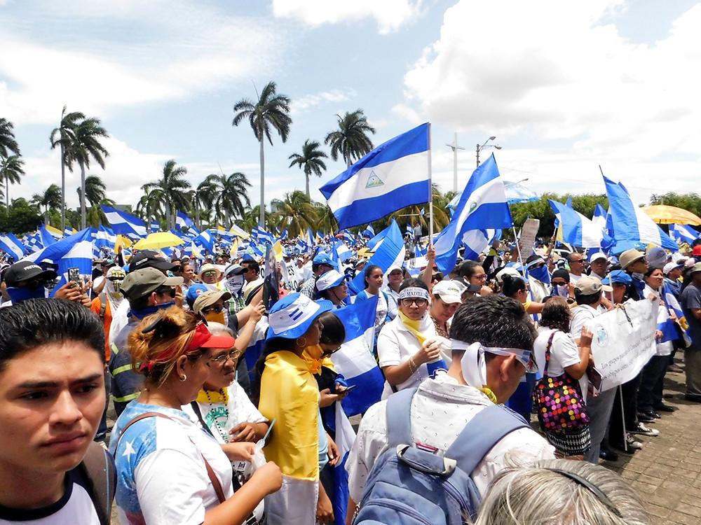 Nicaragua lucha por su libertad - Fotografía de Jairo Videa