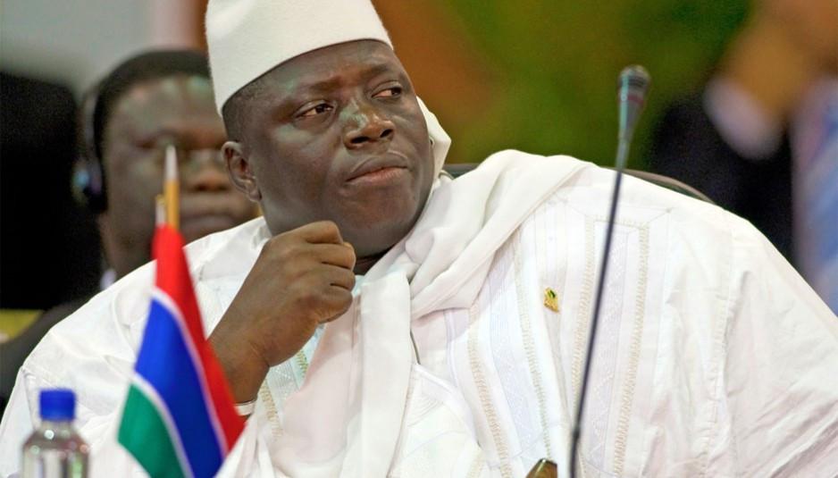 Yahya Jammeh, de Gambia, fue sancionado junto a Roberto Rivas