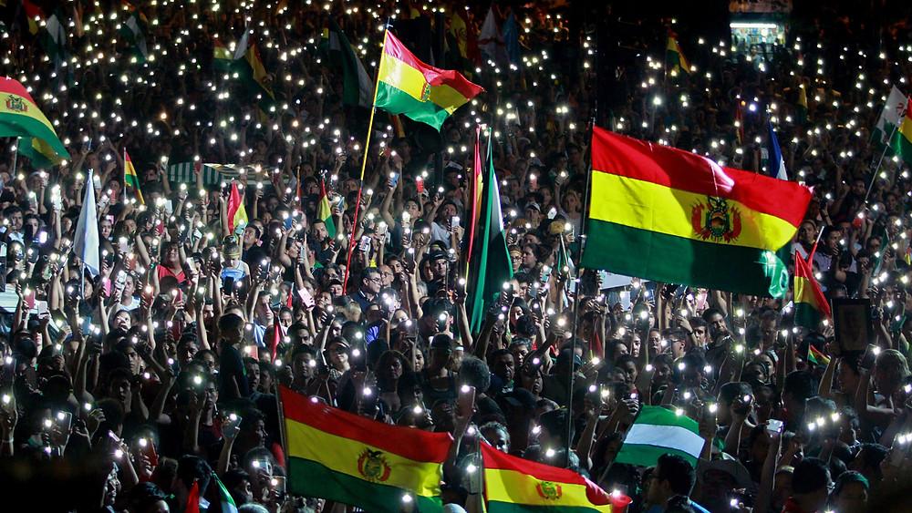 ¿Lograrán los bolivianos la salida de Evo?