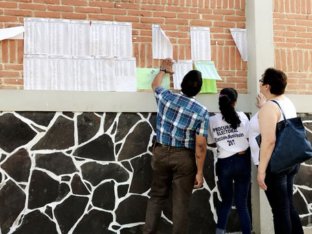 1er Informe de las Elecciones Municipales 2017: JRV vacías, cientos no aparecen en el Padrón Elector