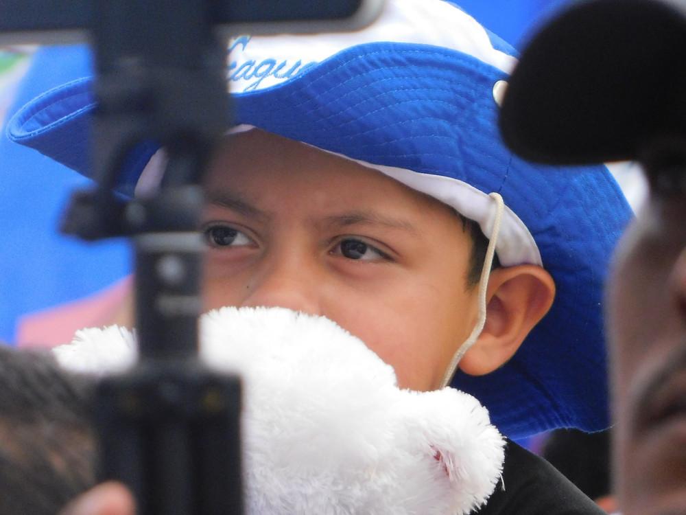 Sin duda alguna la niñez de Nicaragua ha sufrido demasiado por la dictadura - Fotografía de Coyuntura por Juan Daniel Treminio