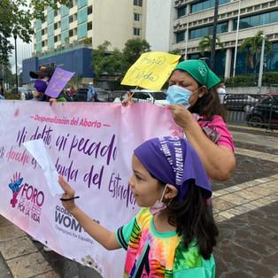 Mujeres hondureñas piden despenalización del aborto y no más muertes