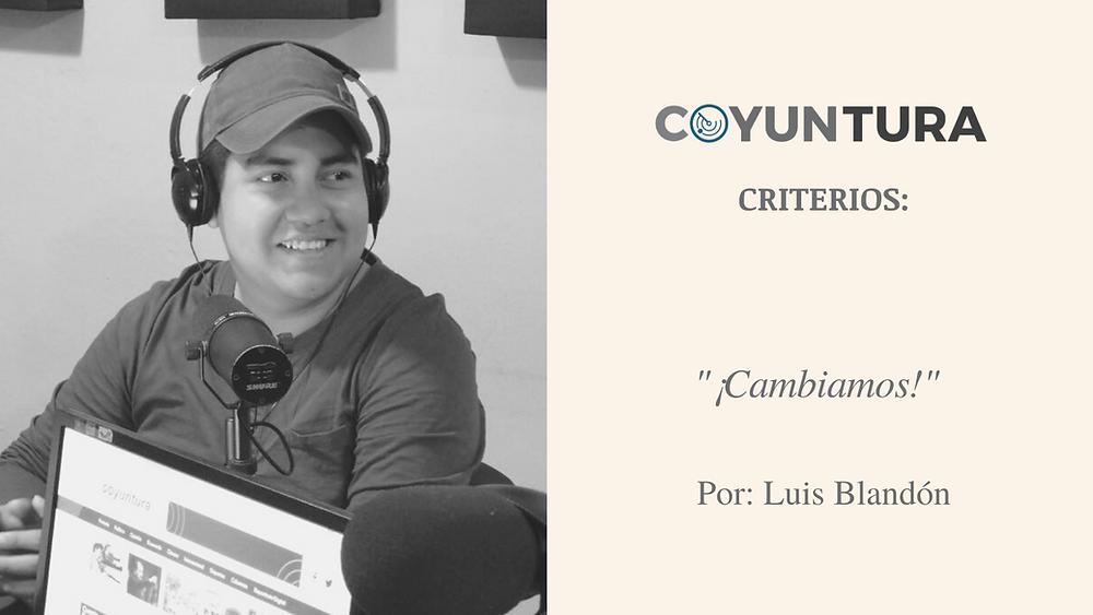 El autor es miembro de la Comisión Ejecutiva de UNAMOS