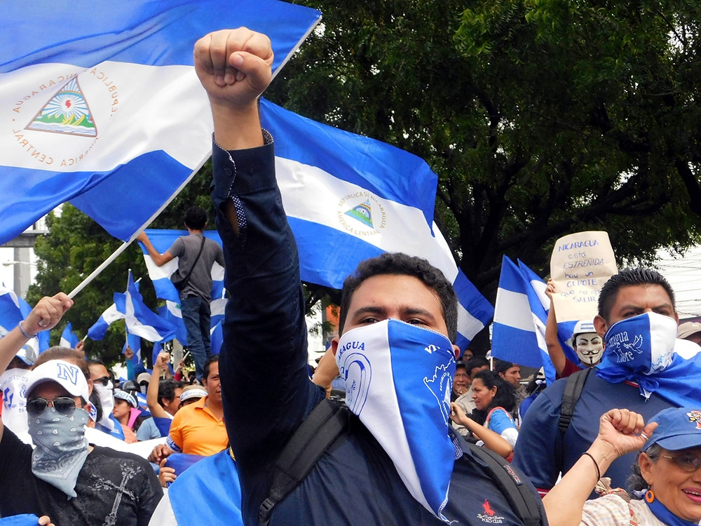 """Libertad para Nicaragua - Fotografía de Jairo Videa"