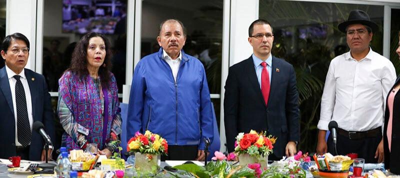 El jueves 14 de noviembre algunos miembros del Alba se reunieron de forma emergente en Managua