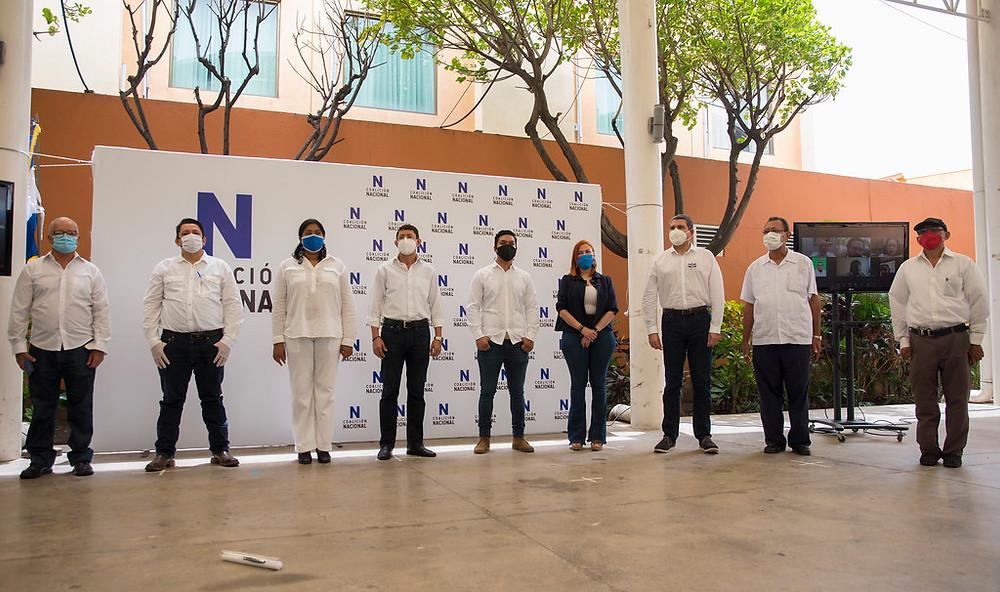 El 25 de junio se firmó la Coalición Nacional en Managua - Fotografía de Confidencial por Nayira Valenzuela