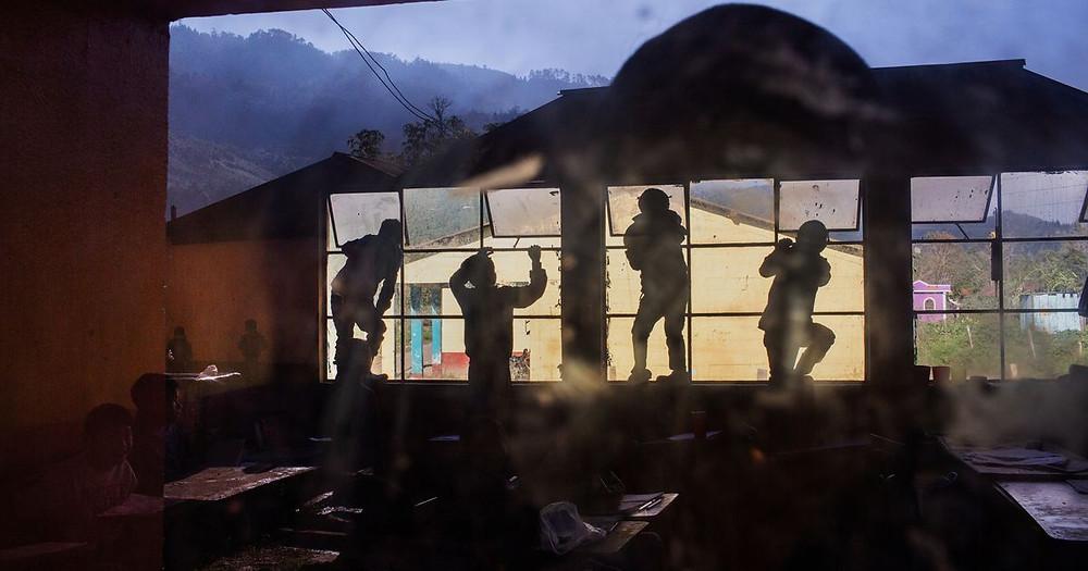 El proyecto El Otro Lado fue producido por la fotoperiodista, becaria de la IWMF, Danielle Villasana - Fotografía del PHmuseum