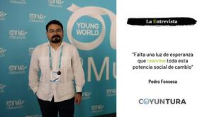 """Pedro Fonseca: """"Falta una luz de esperanza que reanime toda esta potencia social de cambio"""""""