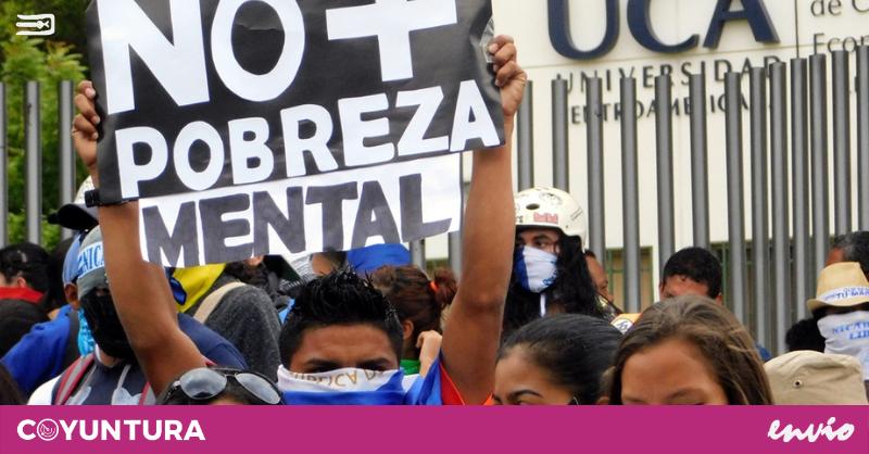 Manifestación en Managua, Nicaragua   Fotografía de Coyuntura por Jairo Videa