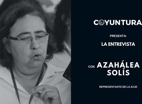 """Azahálea Solís: """"Fallar una tercera vez sería una cuestión sin perdón"""""""