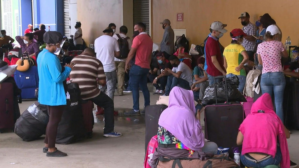 Más de un centenar de nicaragüenses varados en Panamá claman volver a su país