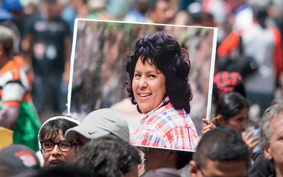 En Honduras miles de mujeres siguen exigiendo justicia para Berta y para todas las mujeres que han sido asesinadas en el país