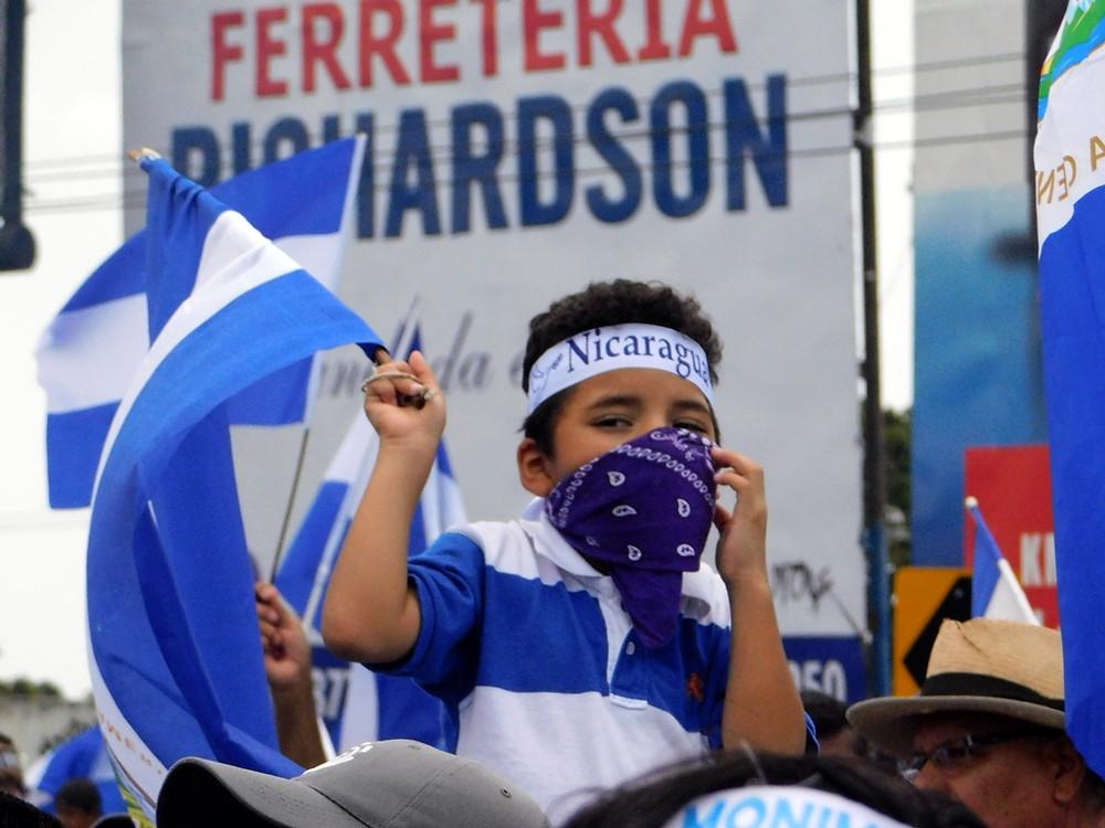 Las y los niños merecen una Nicaragua libre - Fotografía de Jairo Videa