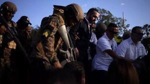 El 9 de febrero Nayib Bukele desplazó a las Fuerzas Armadas de El Salvador - Fotografía de Reuters por Victor Penas