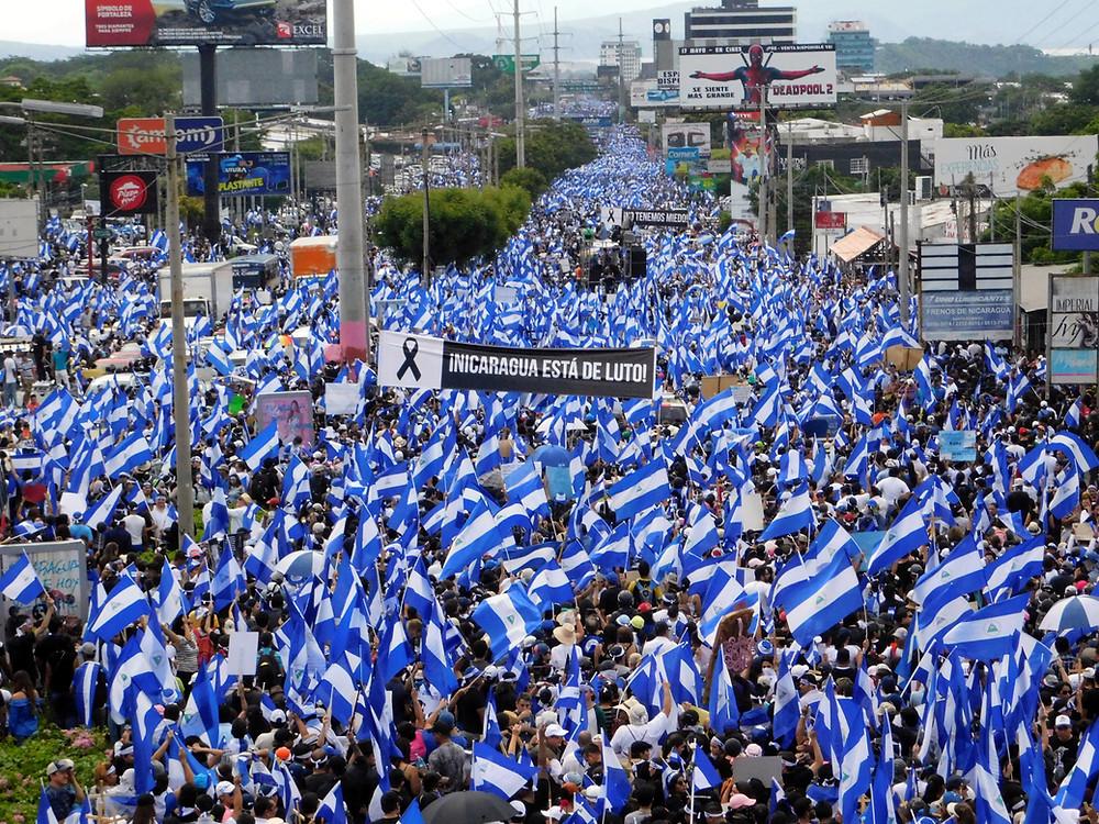 """""""La Madre de todas las Marchas"""" en mayo de 2018 - Fotografía de Jairo Videa"""