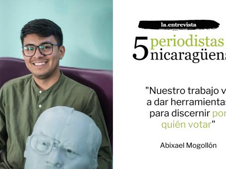 """Abixael Mogollón: """"Nuestro trabajo va a dar herramientas para discernir por quién votar"""""""