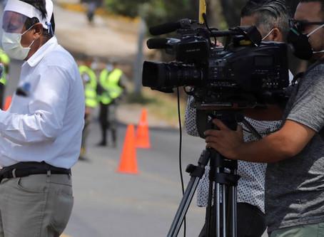 Morir por coronavirus o por las balas: la realidad de los periodistas en Honduras