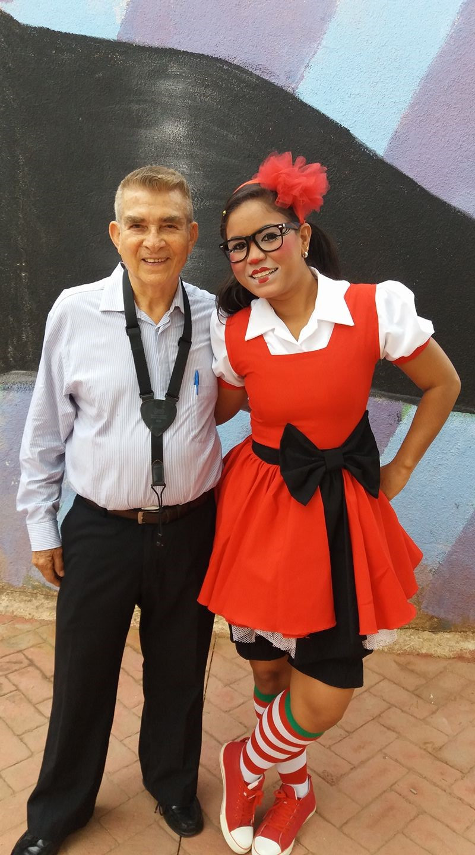 La Payasita Coqueta, Marian, junto a Otto de la Rocha