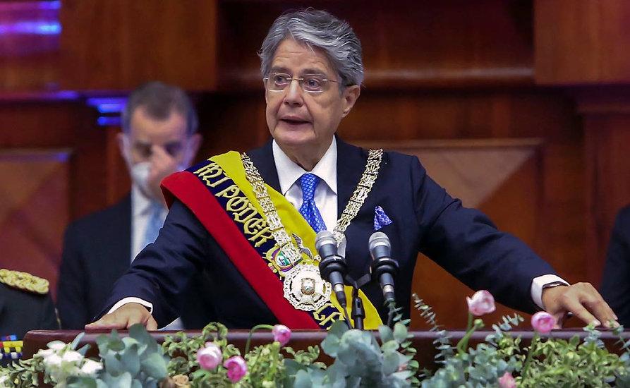 Guillermo Lasso jura como Presidente de Ecuador
