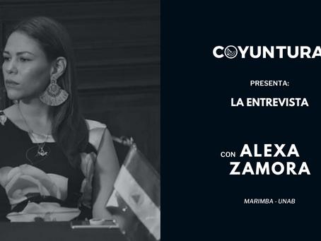 """Alexa Zamora: """"Esa es la vieja forma de hacer política"""""""