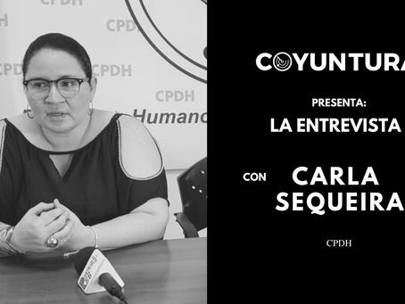 """Carla Sequeira: """"No debemos acostumbrarnos a vivir de esta manera"""""""