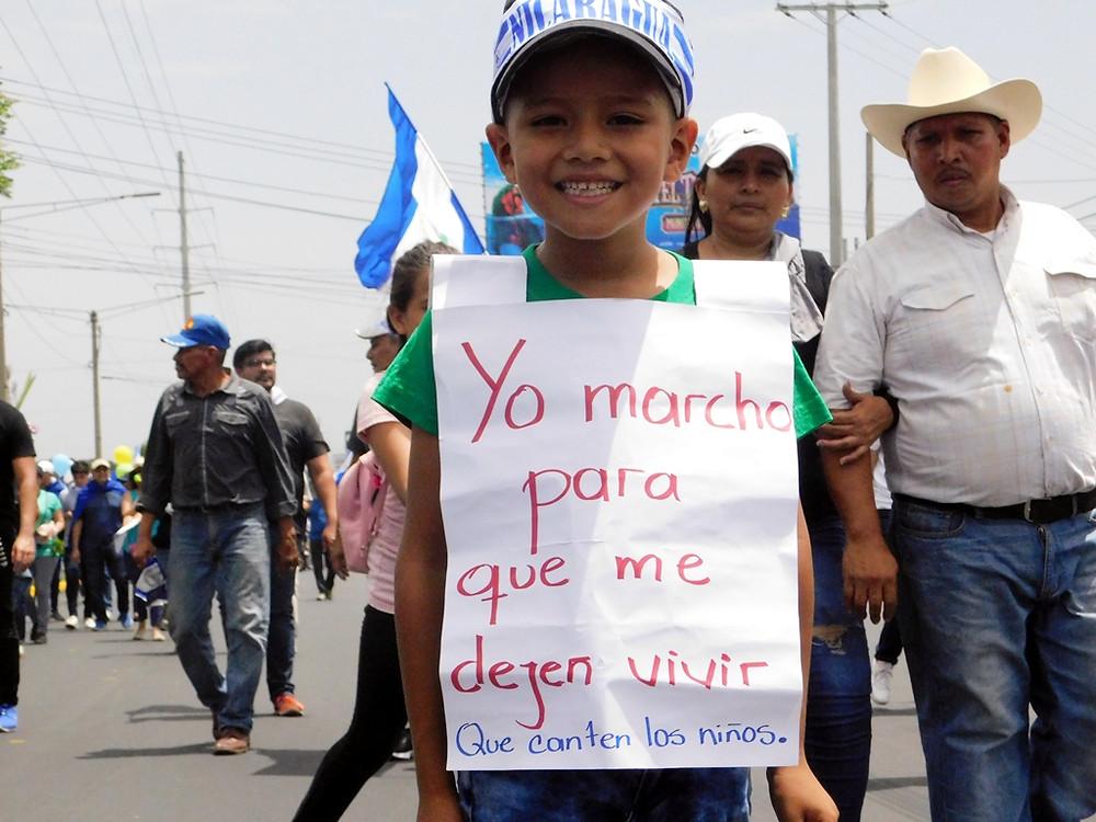 """""""Que canten los niños"""" - Fotografía de Juan Daniel Treminio"""