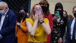 Salen de la cárcel los líderes independentistas catalanes indultados por el Gobierno de España