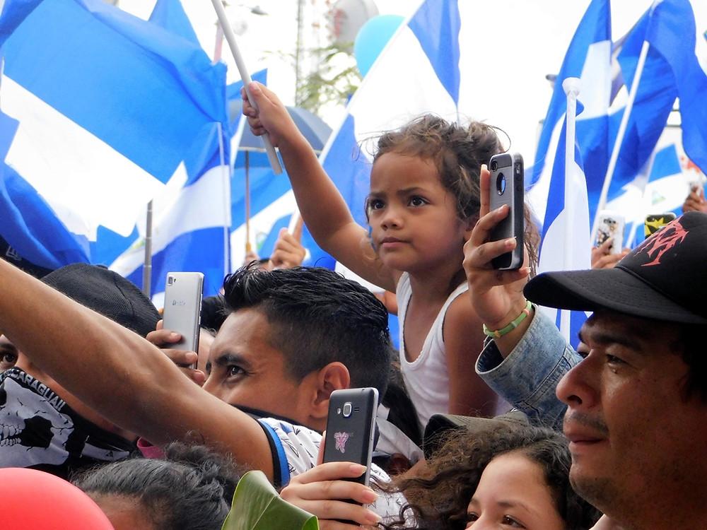El futuro de Nicaragua - Fotografía de Juan Daniel Treminio