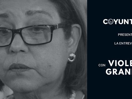 """Violeta Granera: """"El pueblo tiene una sensatez que a veces nos falta a las dirigencias políticas"""""""