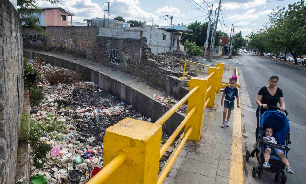 Managua es una de las ciudades más sucias y contaminantes del país - Fotografía de La Prensa por Oscar Navarrete