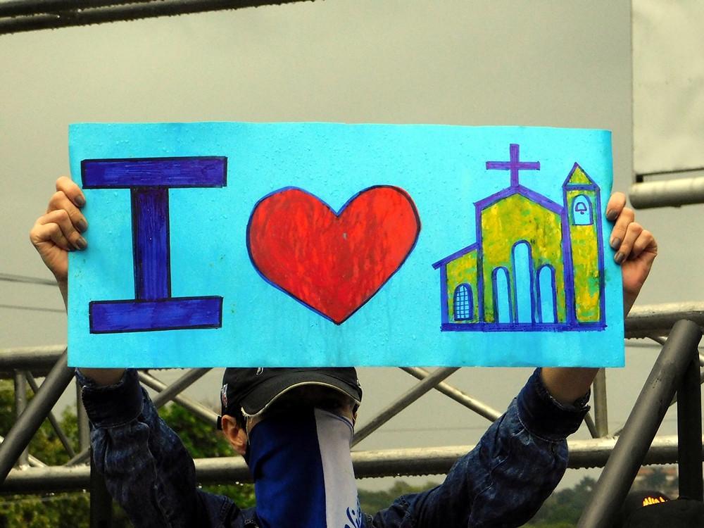Apoyo a la Iglesia Católica - Fotografía de Jairo Videa