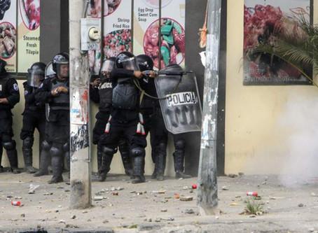 Informe preliminar de la CIDH: Policía Nacional usó armas de fuego, hay más de 70 muertos y detencio