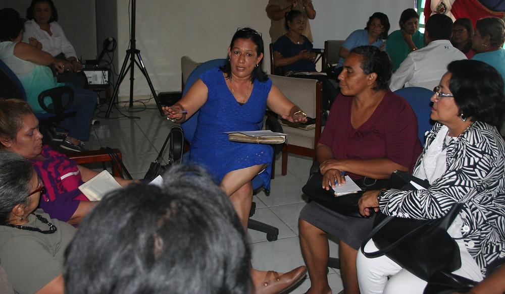 Mujeres debaten sobre su participación en espacios de poder (Parlamento Centroamericano Nicaragua)