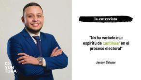 """Jasson Salazar: """"No ha variado ese espíritu de continuar en el proceso electoral"""""""