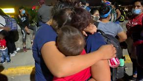 Una nueva caravana de migrantes sale de Honduras en el inicio del 2021