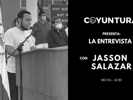 """Jasson Salazar: """"Hay que matar las ideas abstencionistas"""""""
