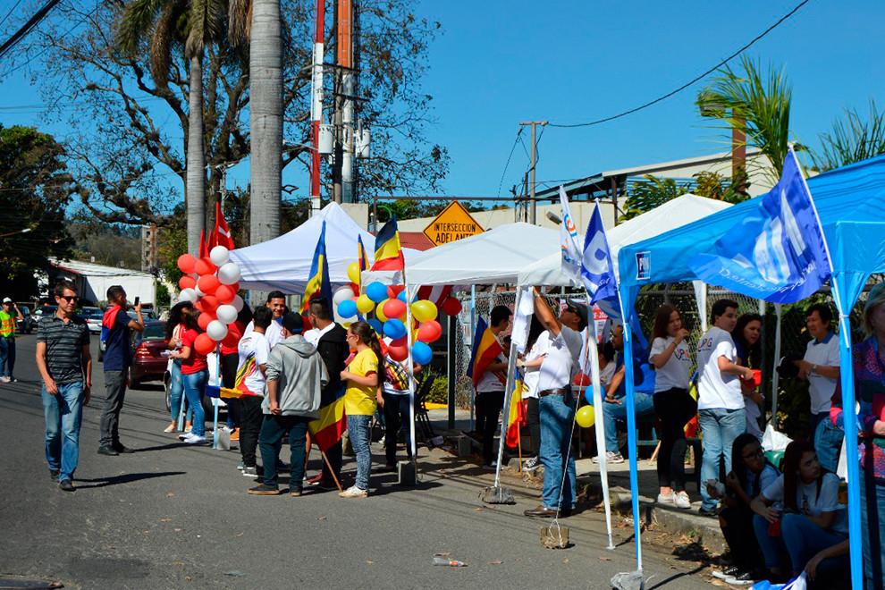 Fiesta cívica en Costa Rica