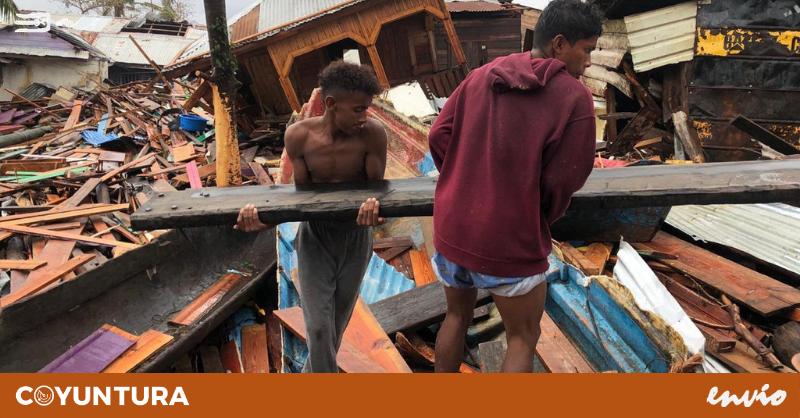 Cientos de familias quedaron en la intemperie tras el paso de Eta y Iota en Nicaragua y Honduras | Fotografía cortesía