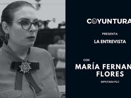 """María F. Flores: """"Sembrar esta división y llevarla al CSE es perjudicar a la Coalición"""""""
