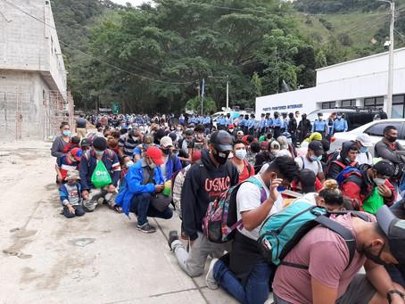 Caravana de migrantes: hondureños desafían a Guatemala con tal de huir de Honduras
