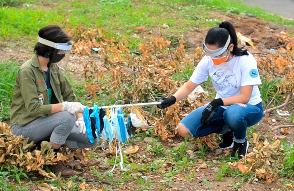 Los desechos generados por la pandemia de Covid-19 no han sido tratados por el Gobierno de Nicaragua - Fotografía cortesía
