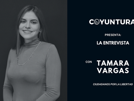 """Tamara Vargas: """"La unidad es una utopía"""""""