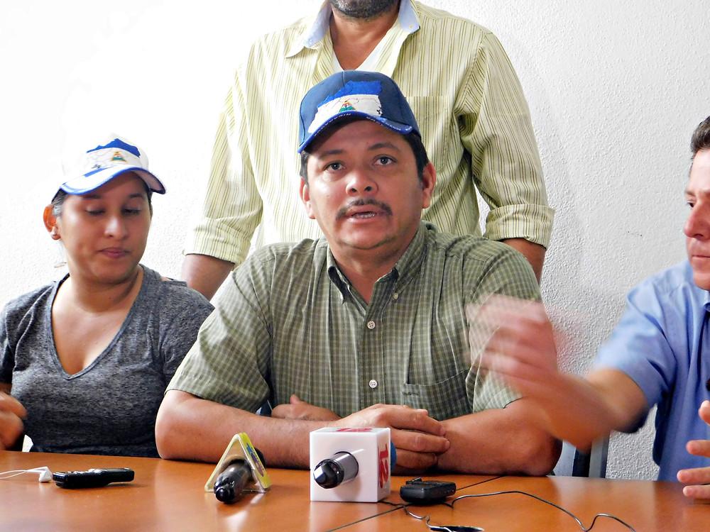 Medardo Mairena fue uno de los presos políticos en el país - Fotografía de Juan Daniel Treminio