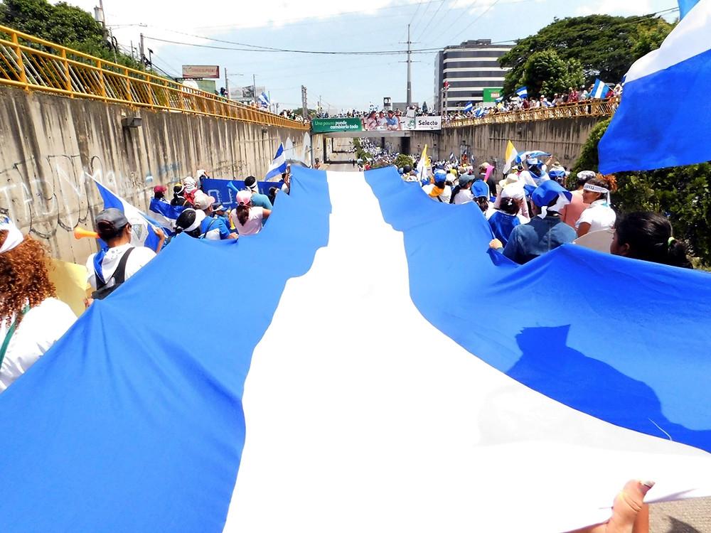 ¡VIVA NICARAGUA! - Fotografía de Jairo Videa