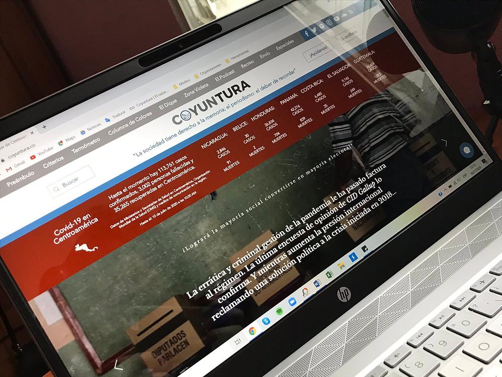 Portada de Coyuntura desde nuestra sala de redacción | www.coyuntura.co