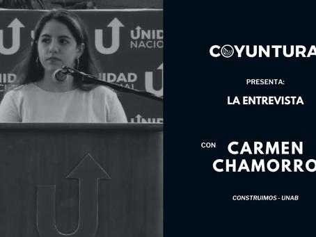 """Carmen Chamorro: """"No le vamos a dar un cheque en blanco ni a la Coalición ni a nadie"""""""