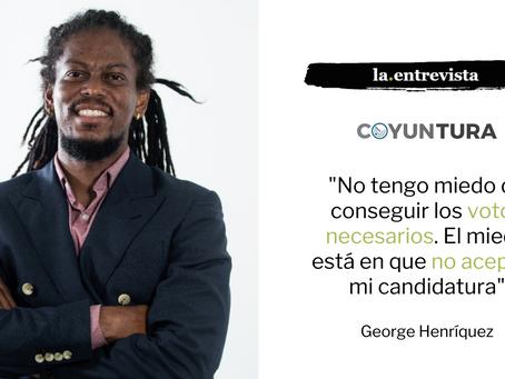 """George Henríquez: """"El miedo está en que no acepten mi candidatura"""""""