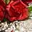 """Thumbnail: Свадебный букет """"Огненная страсть"""" с бутоньеркой"""