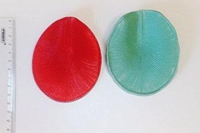 Молд и ответная силиконовая часть лепестка коттлеи ( для ириса, гладиолуса)